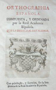 Orthographia-española