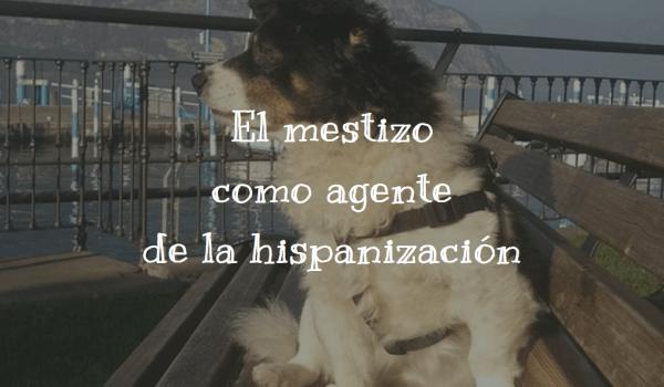 El mestizo como agente de la hispanización
