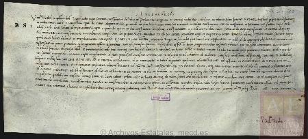 Documentos de Patronato Real del Archivo General de Simancas