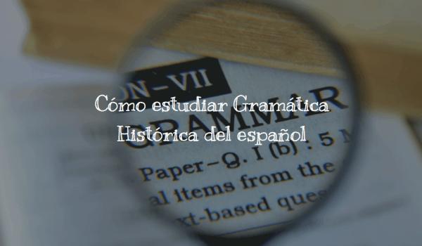 Gramática histórica