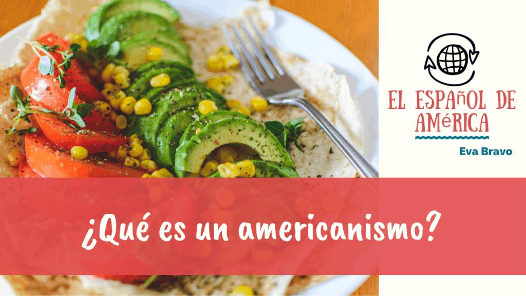 89-¿Qué es un americanismo?
