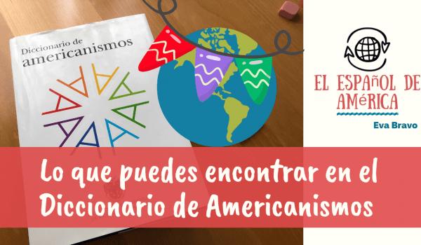 91-El diccionario de americanismos y la enseñanza de ELE